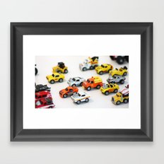 Micro Machine - Toy car Framed Art Print