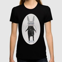 Jumping Jack Cartoon Rabbit, Time for Funny Bunny Jumps T-shirt