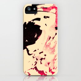 Peaches and Cream Wave for the Lovers iPhone Case