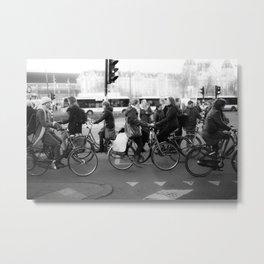 Amsterdam Centraal, Monday, 6pm Metal Print