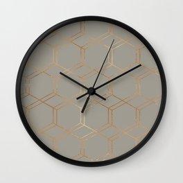 geometric v x iv Wall Clock