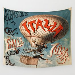 Vintage poster - Italia Wall Tapestry