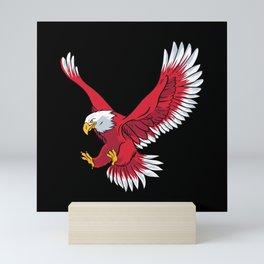 Eagle Attack Mini Art Print