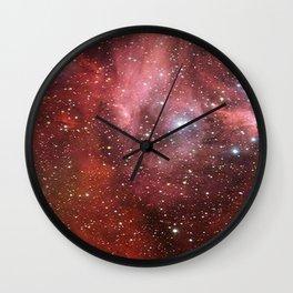 Stellar Spiral, Eagle Nebula. Richard Feynman Wall Clock