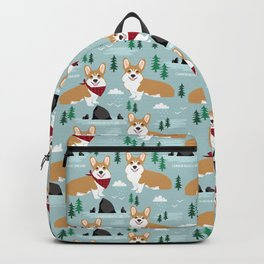 Corgi cannon beach oregon northwest vacation seaside welsh corgis Backpack