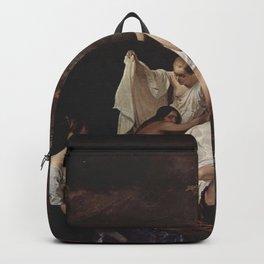 Francesco Hayez - Bad der Nymphen Backpack