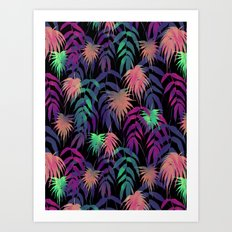 New Palm Beach - Winter Art Print