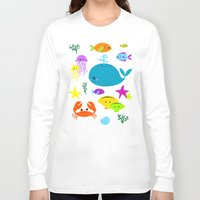 under the sea Long Sleeve T-shirts featuring Under The Sea by Reg Silva / Wedgienet.net