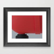 Red Serie A Framed Art Print