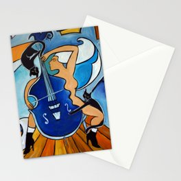 Sonata in Blue Stationery Cards