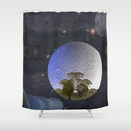 'Faint indeterminate glimpses... Shower Curtain