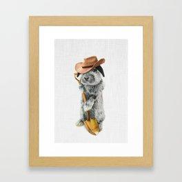 JOHNNY CARRO Framed Art Print