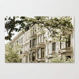 Between Columbus and Amsterdam Canvas Print