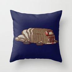LoafWagen Throw Pillow