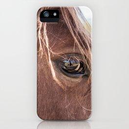 Sorrel Horse iPhone Case
