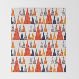 TEEPEE TOWN Throw Blanket