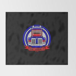 Prime Trucking Co. Throw Blanket