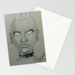 Punk Storm Stationery Cards