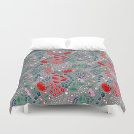 Earth Laughs in Flowers Duvet Cover