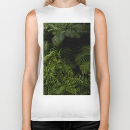 Tropical jungle. Biker Tank