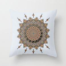 Southwest Art Mandala Throw Pillow