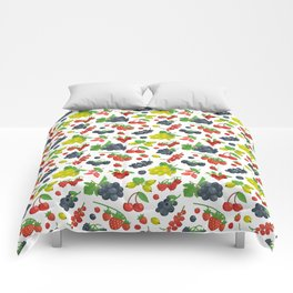 Colorful Berries Pattern Comforters
