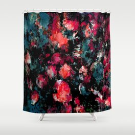 Dream Splatter Shower Curtain