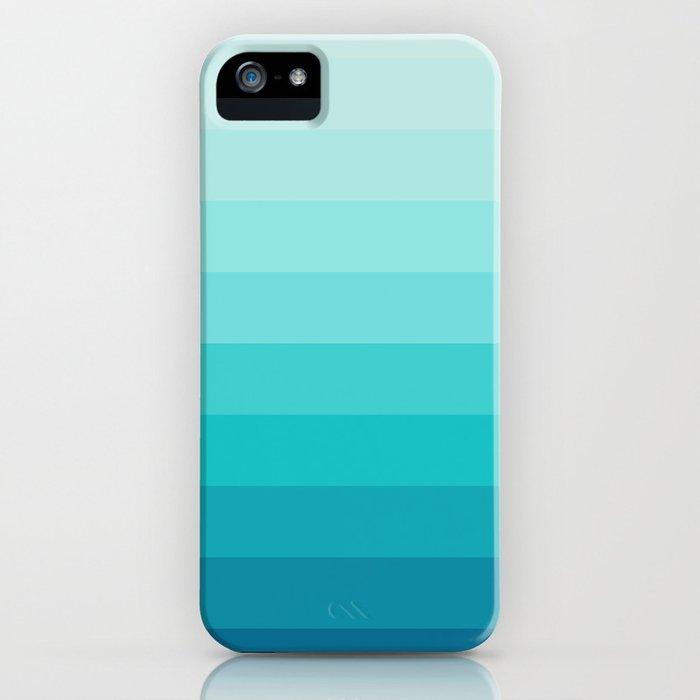 TURQUOISE GRADIENT iPhone Case