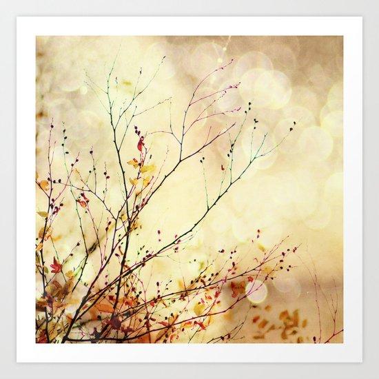 Autumnal Bliss  Art Print