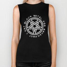 Metalhead Shirt 2018 I Eat Black Metal For Breakfast Biker Tank
