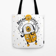 Dream in space Tote Bag