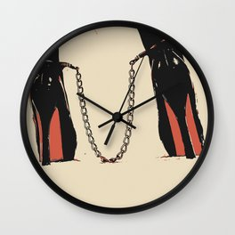 Dirty Girls, dirty play, dirty toys 3 Wall Clock