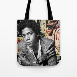 Tattooed Basquiat Tote Bag