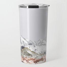 Pastel Mountains I Travel Mug