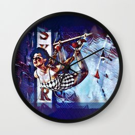 Sky Dancer Wall Clock