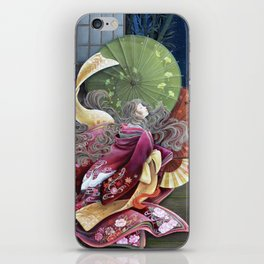 Moon Gazing iPhone Skin