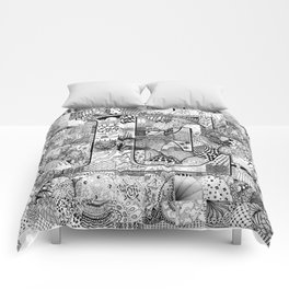 The Letter E Comforters