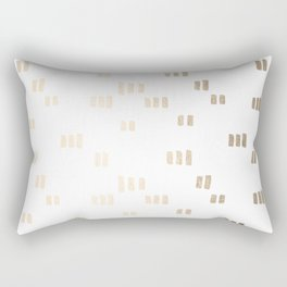 Golden Guards Rectangular Pillow