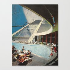 The flying Architecture Canvas Print