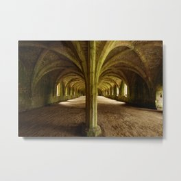 Ceiling of Arcs Metal Print