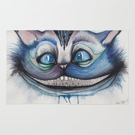 Cheshire Cat Grin - Alice in Wonderland Rug