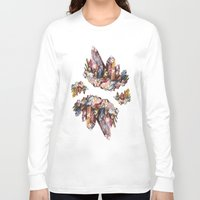 crystal Long Sleeve T-shirts featuring Crystal by Kat Nova