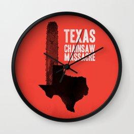 Texas Chainsaw Massacre Wall Clock