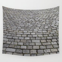 cobble stone pavement Wall Tapestry