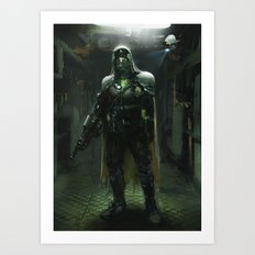 Future soldier Art Print
