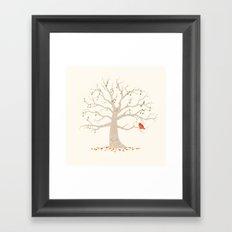 A Little Song Framed Art Print