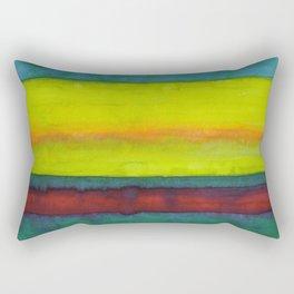 Summer Fields Stripes Rectangular Pillow