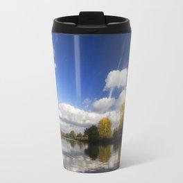 Autumn on the River Thames Travel Mug