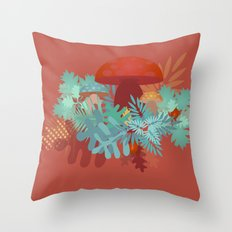 Lovely Forest Throw Pillow