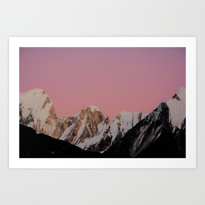 Sunset Peak Kunstdrucke